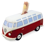 VW Skarbonka BUS Classic Red